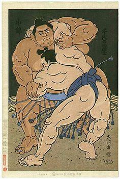 Konishiki vs Chiyonofuji 小錦 ✖️ 千代の富士