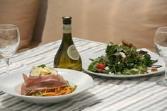 Paros and Πiatsa estiatorio waiting for you with smoked pork pasta and salad with local vegetables,Greek cheese served with a fresh house wine...