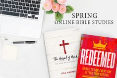 The Gospel of Mark + Redeemed | Spring Online Bible Study Giveaway