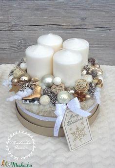Adventbox - karácsonyi asztaldísz (madarkamuhely) - Meska.hu