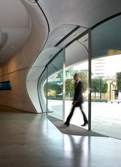 Roca Londen Gallery UK by Zaha Hadid as Architects