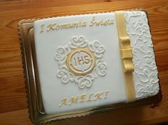 torty z pasją...: tort na komunię
