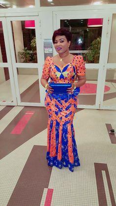 Orange skirt2 Latest African Fashion Dresses, African Dresses For Women, African Attire, African Wear, African Women, African Print Dress Designs, African Print Clothing, African Print Fashion, Tribal Fashion