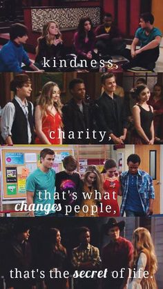 "the high five ft ""what us do for them""{girl meets money quote}"