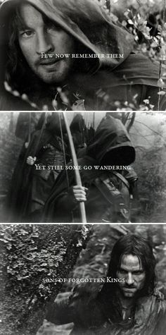 Guarding from evil things folk that are heedless. #lotr