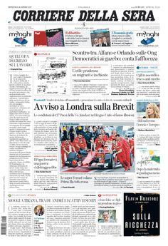 Corriere della Sera // 30/04/2017 //