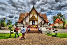 วัดภูมินทร์ จ.น่าน Wat Phumin, Nan by Dekchild Kong on 500px
