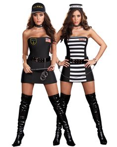 Crimes and Misdemeanors Reversible Adult Womens Costume $59.99