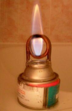 DIY alcohol stove