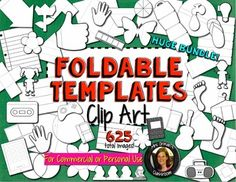 Interactive Notebook Templates & Shapes Bundle {Commercial Use Allowed!} 625 images http://www.teacherspayteachers.com/Product/Interactive-Notebook-Templates-Shapes-Bundle-Commercial-Use-Allowed-1322351