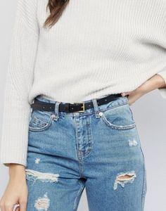 Cinturón de cadera o cintura con aspecto vintage de ASOS