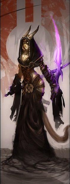 is da een draenei :o?  Safath Oto, the Witch of Drakar