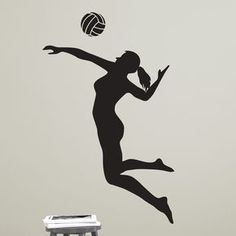 Female Volleyball Player Spiking #FilmSchools