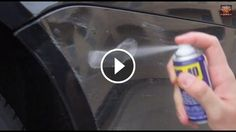 Easy Fix Car Scratches with WD-40