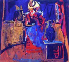"""""""Interjor II"""" / """"Interior II"""" - Elmar Kits, 1970"""