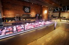 HK Interiors the butchers shop design, refitting and refurbishment specialists. Experienced national butchers shop Design and Shopfitting throughout England, Scotland and Wales. Award winning butchers shop designers and shop fitters including Butchers Sho Shop Interior Design, Cafe Design, Retail Design, Store Design, Butcher Store, Carnicerias Ideas, Meat Store, Food Retail, Meat Markets