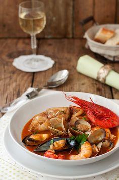 La cocina de Tesa: Zarzuela de pescado y marisco