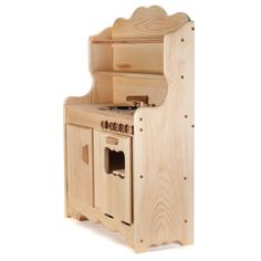 Sylvies Wooden Play Kitchen, Waldorf Toys