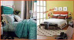 Teal Tufted headboard will someone PLEASE tell me where Laura Ashley is hiding this masterpiece?
