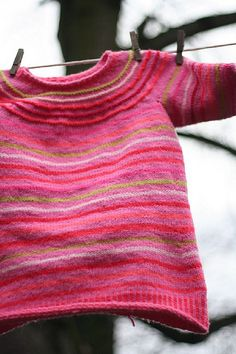stash busting jumper idea like the purl rows in the yoke