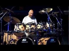 Phil Collins - Drums, Drums & More Drums (@8;02 is my favorite beat they do. Love Luis Conte's Energy and Joy!)