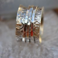 Soul Of A Gypsy Jewelry spinner rings keep fidgety fingers busy too!