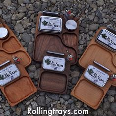 These are our large handmade Rolling Trays.   Also,  We are having a blow out…