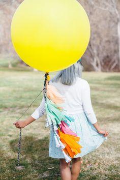 DIY: Unos bonitos y divertidos globos para tu fiesta | Decorar tu casa es facilisimo.com