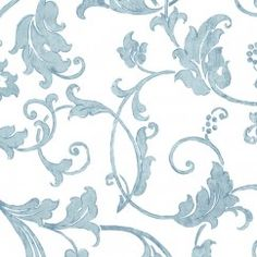 Tissu décor maison - Signature Miyuki 132 - bleu, turquoise, blanc