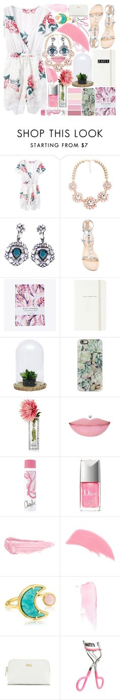 """""""Soft Colors"""" by vanjazivadinovic ❤ liked on Polyvore featuring Rebecca Minkoff, Nikki Strange, Kate Spade, Dot & Bo, Casetify, Leeber Limited, Christian Dior, By Terry, Stila and TOUS"""