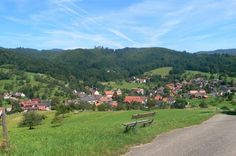 Sitzenkirch, the small town nearby