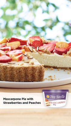 Summer Desserts, No Bake Desserts, Just Desserts, Delicious Desserts, Dessert Recipes, Yummy Food, Pound Cake Recipes, Tart Recipes, Cheesecake Recipes