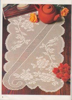 Crochet: lingettes