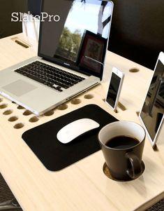 ¿Cómo sería tu escritorio si estuviera diseñado con los ordenadores, no hay libros, lápices y papeles en mente.
