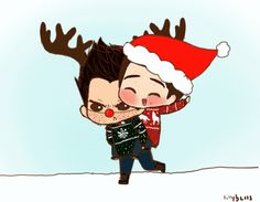 Stiles: WOO! GIDDY UP, SOUR RUDOLPH! Derek: .. Why did I even agree to this. 4 days until Christmas!