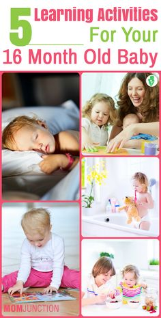 5 Learning Activities For Your 16 Month Old Baby