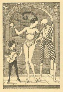 Dirigível: A arte do Ex Libris erótico