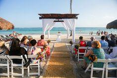 Colorful Destination Wedding at Secrets Akumal, Riviera Maya. Photo courtesy of Jet Fete.