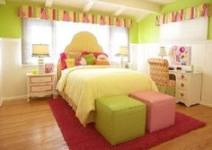 Hmm maybe for Lexi's room. She wants this color green for her walls