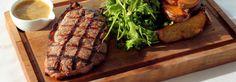 Steaks ‹ The Venue Steakhouse Barcelona Restaurants, Bean Stew, Steaks, Ratatouille, Lamb, Seafood, Spicy, Diet, Vegetables