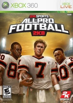 All Pro Football 2K8  Xbox 360 by 2K * Want to know more, click on the image. Note:It is Affiliate Link to Amazon.