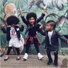 Crianças negras lindas