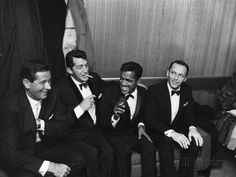 Sammy Davis Jr., Rat Pack - 1960 Photographic Print by Moneta ...
