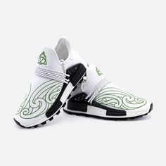 These beautifully designed sneakers are inspired by Irish and Celtic heritage with a modern twist, designed by our design team, the flowing lines and Celtic Knot are what we are all about here at Urban Celt. These are only available here and not sold in shops.  Like all our products these sneakers are custom-made-to-order and handcrafted to the highest quality standards.  Please allow 7-9 days to receive a tracking number while your order is hand-crafted, packaged and shipped from our… Celtic Knot, Tracking Number, Irish, Shops, Footwear, Urban, Unisex, Inspired, Canvas