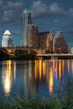 Downtown Austin, Texas, USA • Dave Wilson Photography