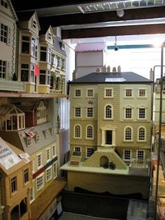 The Tudor / Medieval / Jacobean / Queen Anne Dollhouse Project: First dolls house shop -- Dolls' House Gallery, Chesterfield