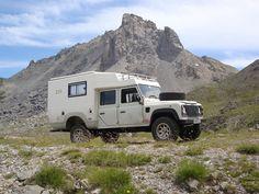 AZALAI - Landrover Camper
