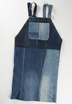 Ommeltu farkkuhame SK 8/13 Recycled Denim, Arts And Crafts, Sewing, Blue, Clothes, Ideas, Fashion, Outfit, Dressmaking