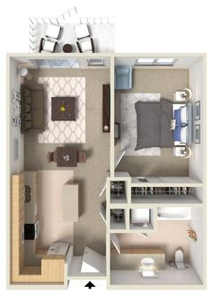 Large One Bedroom.