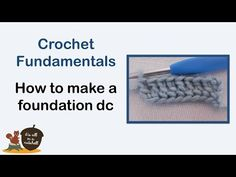 The first part in a series on fundamental crochet techniques. In this video I discuss which materials you need to start crocheting such as hooks, yarn, and a...